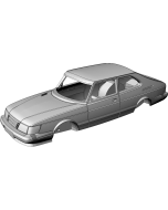 Saab 900 Face-lift 3-door Coupe - custom resin kit