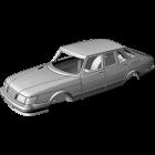 Saab 900 Face-lift 5-door Hatchback - custom resin kit