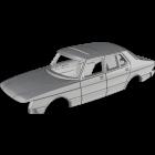 Saab 900 Sedan Face-lift - custom resin kit