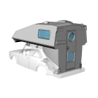 Toppola camper - custom resin kit addon