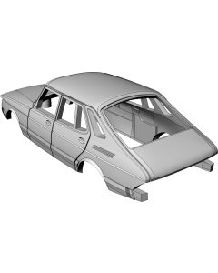 Saab 900 5-door Hatchback - custom resin kit