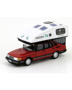 DreamTrip Saab 900 Hatchback with Toppola camper combo kit