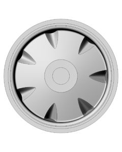 Set of 4 wheels 15 inch - type 1