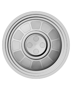 Set of 4 wheels 15 inch - type 6