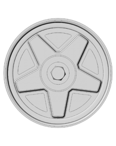 Set of 4 wheels 15 inch - Five Spoke