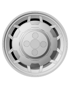 Set of 4 wheels 15 inch - EMS