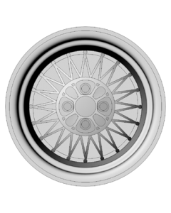 Set of 4 wheels 15 inch - Simmons P-4