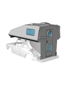 Toppola camper - custom resin kit addon