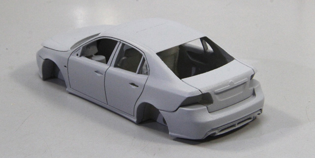 Saab 9-3 Sedan by Griffin Models