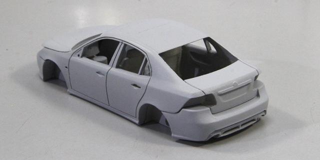Saab 9-3 Sedan by Griffin Models