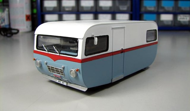 Saab 92H Motorhome kit by Griffin Models