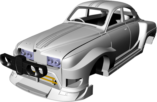 Griffin Models Saab 96ss assembly