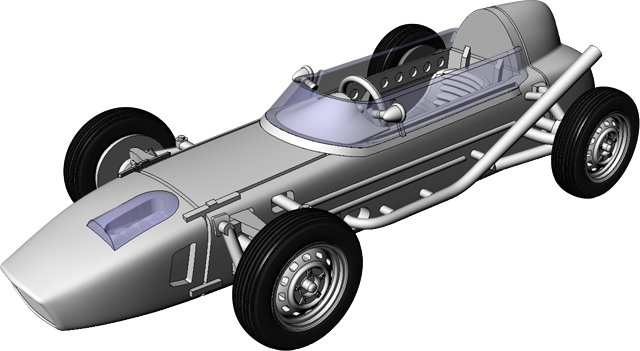 Griffin Models Saab Formula Junior assembly instructions