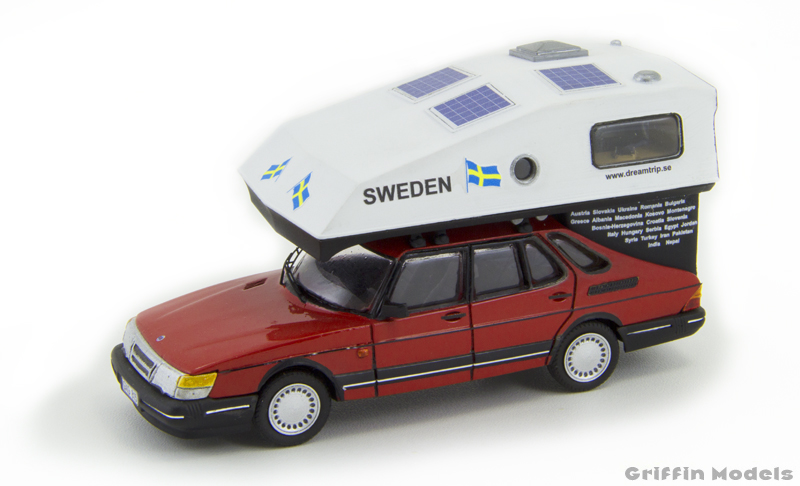 DreamTrip Saab 900 Toppola by Griffin Models