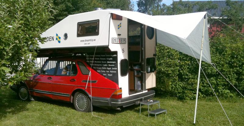 Dreamtrip Saab 900 Toppola