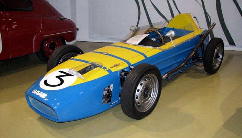 Saab Formula Junior No. 3 in the Saab Museum