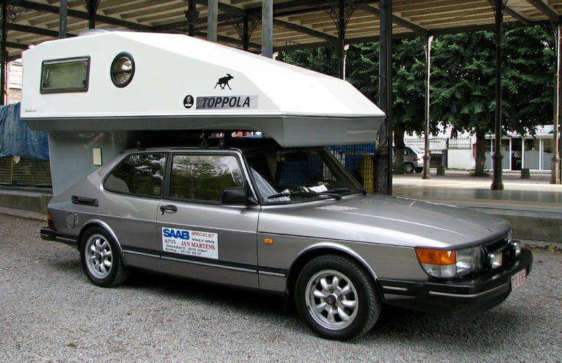 Saab 900 Toppola at IntSaab 2012