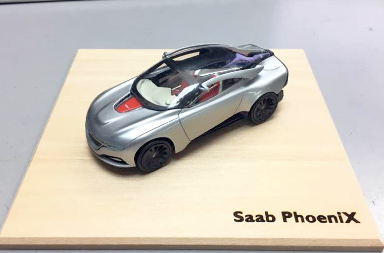 Saab PhoeniX Concept by Griffin Models