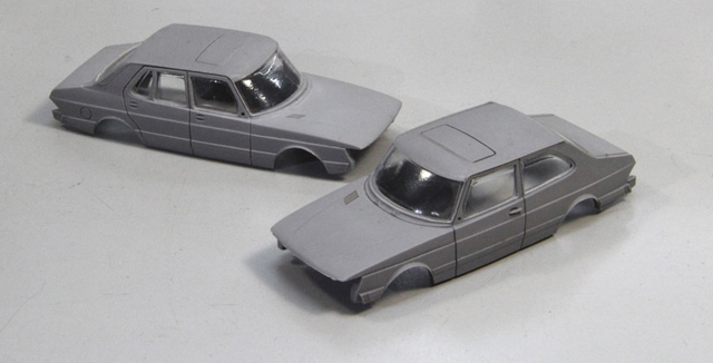 Saab 900 Notchback and Sedan by Griffin Models
