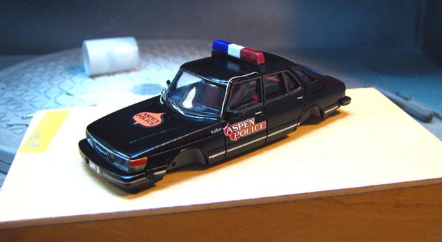 Griffin Models Saab 900 Aspen Police