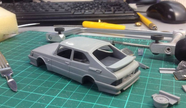 Griffin Models Saab 900 Airflow
