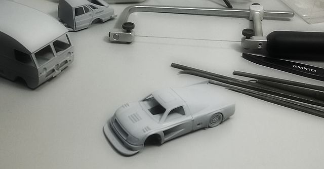 Griffin Models Toyota Tacoma scale 1/43 WIP