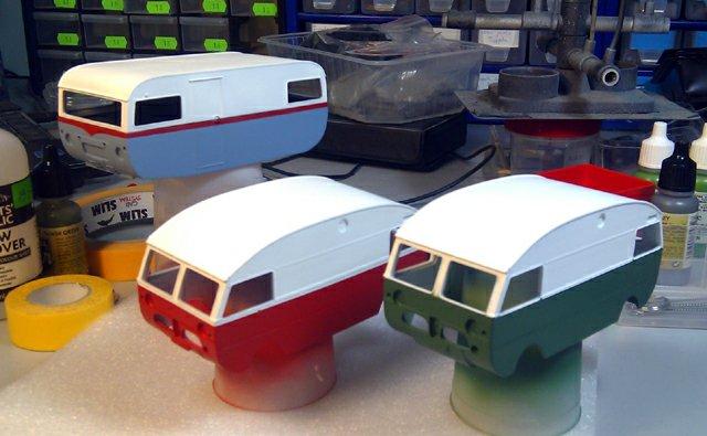 Griffin Models Saab motorhomes