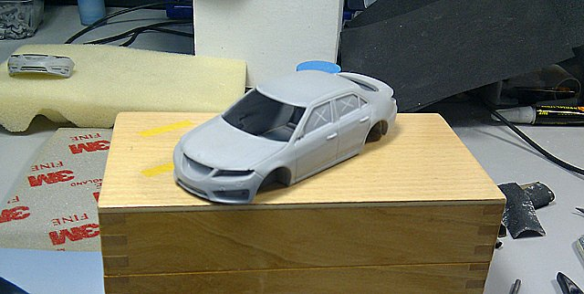 Saab 9-5 2010 by Griffin Models