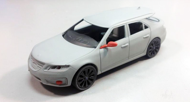 Saab 9-5 Sport Combi by Griffin Models