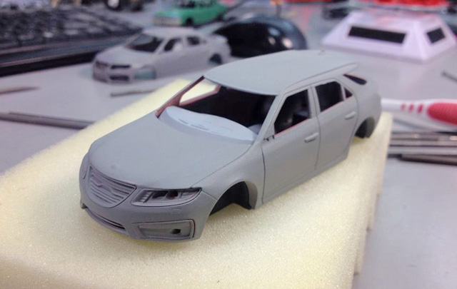 Saab 9-5 Combi 2012 by Griffin Models