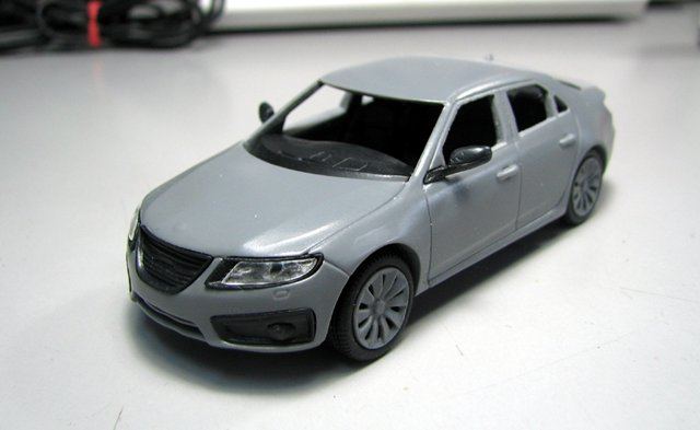 Saab 9-5 Aero by Griffin Models