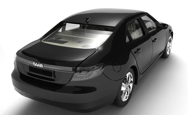 Saab 9-5 assembly instructions