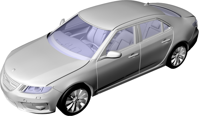 Saab 9-5 Aero 2010 Assembly instructions