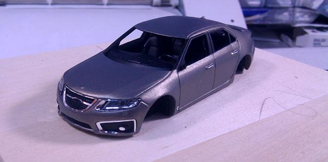 Griffin Models Saab 9-5 Aero 2010 WIP