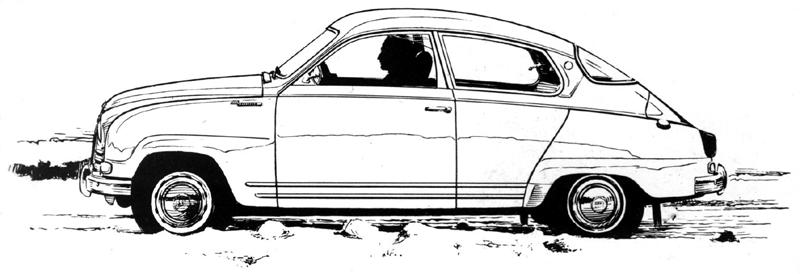 Saab Granturismo 750